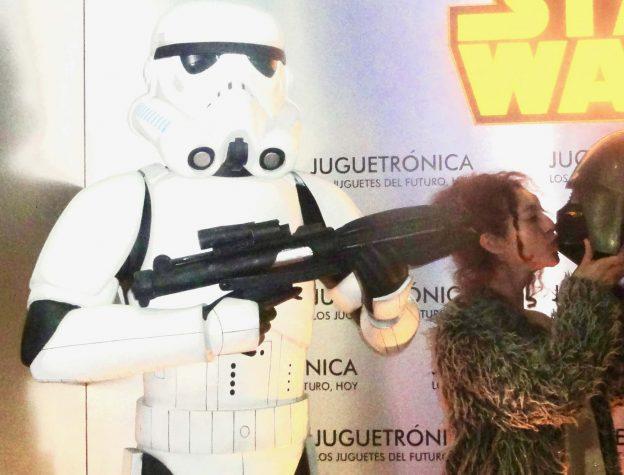 Besos a Darth Vader